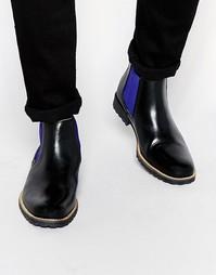 Кожаные ботинки челси Dune Chiggy - Черный