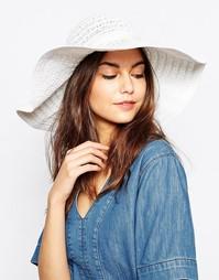 Широкополая шляпа Melissa Odabash - Белый