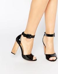 Босоножки на каблуке с ремешками Truffle Collection Vela