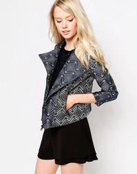 Пиджак из жаккардовой ткани Jovonna Winnie - Принт