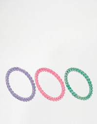 Набор витых колец Me & Zena - Разноцветный