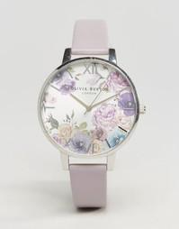 Часы с сиреневым ремешком Olivia Burton Parlour OB15EG05