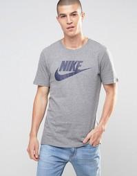 Серая футболка Nike Futura 696707-091 - Серый
