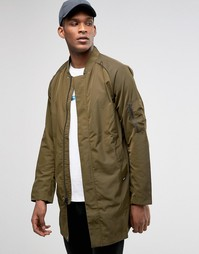 Зеленая куртка Nike FC 802419-347 - Зеленый