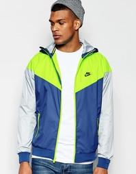 Синяя ветровка Nike 727324-423 - Синий