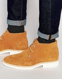Ботинки чукка Sebago Machall - Бежевый
