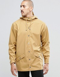 Короткая водонепроницаемая куртка Rains - Хаки