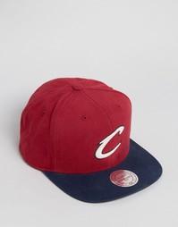 Бейсболка Mitchell & Ness Cleveland Cavaliers - Красный