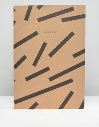 Блокнот формата A4 с принтом Ohh Deer - Мульти