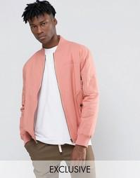 Куртка-пилот The New County - Розовый