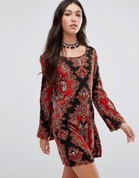 Платье-туника Raga Majestic Renaissance - Красный