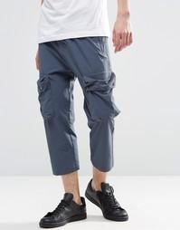 Брюки-карго adidas Originals Tact AY9267 - Синий