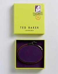 Красный плетеный браслет с крючком Ted Baker - Красный