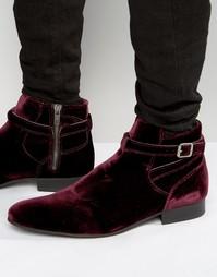 Бархатные ботинки House Of Hounds Albion Jodphur - Красный