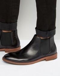 Кожаные ботинки челси Dune Mencia - Черный