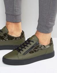 Низкие кроссовки Glorious Gangsta London - Зеленый