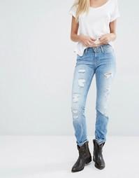 Прямые джинсы в винтажном стиле Lee Emlyn - Blue trash