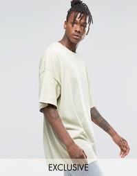 Окрашенная oversize‑футболка Reclaimed Vintage - New stone