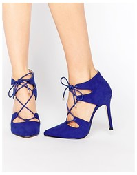Туфли на каблуке с острым носом и шнуровкой Carvela Kayleigh Ghillie