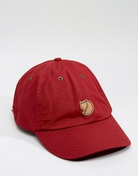 Fjallraven Helags Cap In Red - Красный