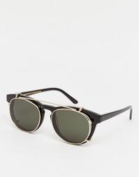 Солнцезащитные очки с пристегивающимися стеклами Han Kjobenhavn Timele