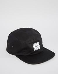 Черная кепка Herschel Supply Co Glendale - Черный