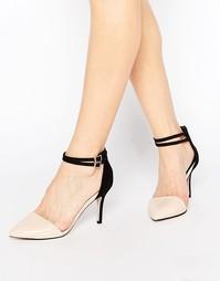 Туфли на каблуке с ремешком на щиколотке Miss KG Sierra - Черный