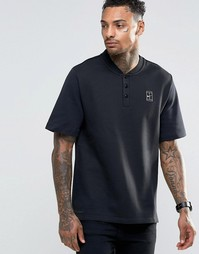 Черная футболка-поло Nike Court 810147-010 - Черный