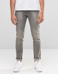 Серые джинсы скинни United Colors of Benetton - Серый 904