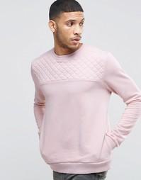 Свитер со стеганой вставкой Kubban - Розовый