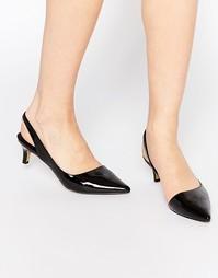 Туфли на среднем каблуке Ravel - Черный