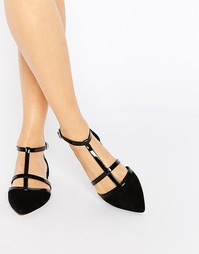 Туфли с Т-образным ремешком Carvela Mixx - Black synthetic
