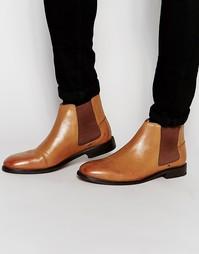 Светло-коричневые ботинки челси Ben Sherman Kris - Рыжий