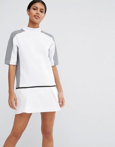 Платье-свитшот с заниженной талией Nike Premium Court