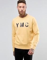Свитер с логотипом YMC - Желтый