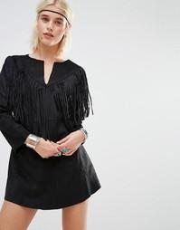 Платье-рубашка Raga Rule Breaker - Черный