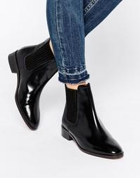 Кожаные ботинки челси KG By Kurt Geiger - Черная кожа