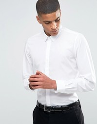 Строгая рубашка слим Hart Hollywood by Nick Hart - Белый