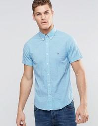 Рубашка в клеточку с короткими рукавами Tommy Hilfiger - Blithe