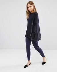 Строгие брюки BCBG Generation - Темно-синий 4f1