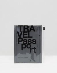 Серая обложка для паспорта в дорожном чехле - Серый металлик Gifts