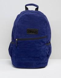 Рюкзак из искусственной замши Heist - Синий