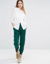 Свободные брюки для бега Vanessa Bruno Athe - Зеленый