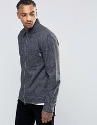 Рубашка на молнии Nicce London - Черный