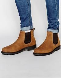 Кожаные ботинки челси Red Tape - Бежевый