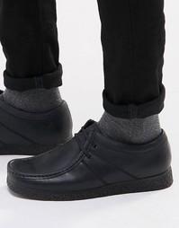 Кожаные туфли Base London XXVI Legacy - Черный
