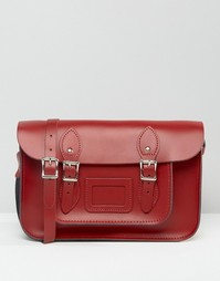 Портфель The Leather Satchel Company - Ярко-красный