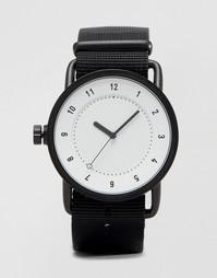 Часы с парусиновым ремешком TID No 1 - Черный