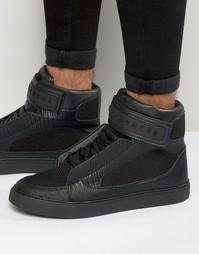 Высокие кроссовки Criminal Damage Bronx - Черный
