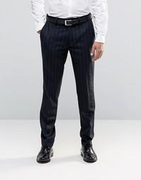 Полосатые брюки-премиум из кашемира и шерсти Feraud Heritage